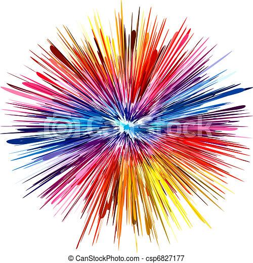 szín, felrobbanás - csp6827177