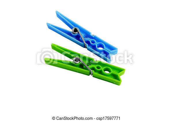 szín, jottányi, elszigetelt, ruhacsipesz - csp17597771
