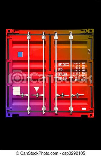 szín, sokszínű, 01, konténer - csp0292105