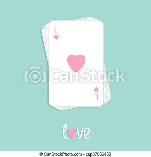 szív, aláír, tervezés, háttér, piszkavas, szeret, lakás, játék, kazal, kártya - csp87656453