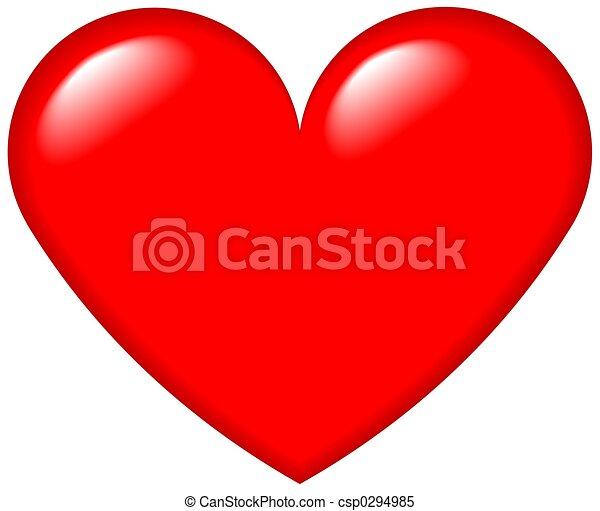 szív, grafikus, 4 - csp0294985