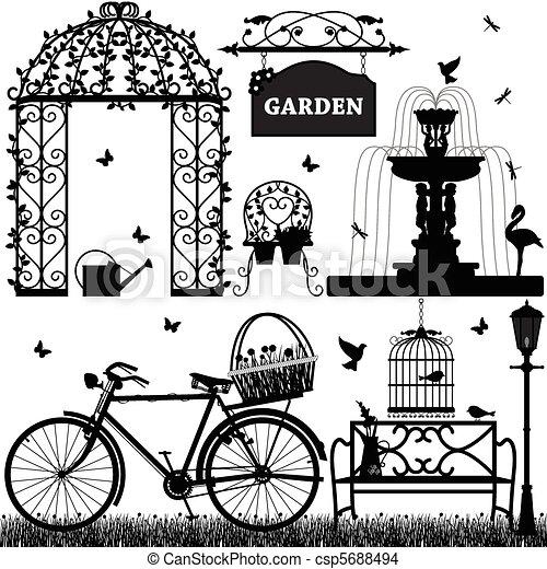 szórakozási, liget, kert - csp5688494