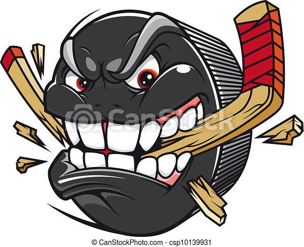 szünet, korong, hockey kitart - csp10139931