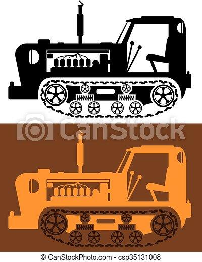 szüret, traktor - csp35131008