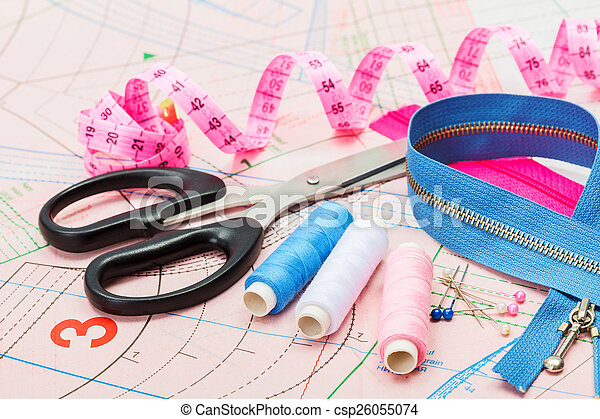 szabászat, eszközök, segédszervek - csp26055074