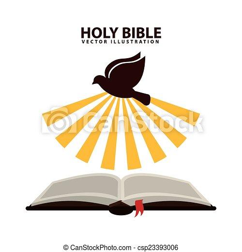 szent bible, tervezés - csp23393006