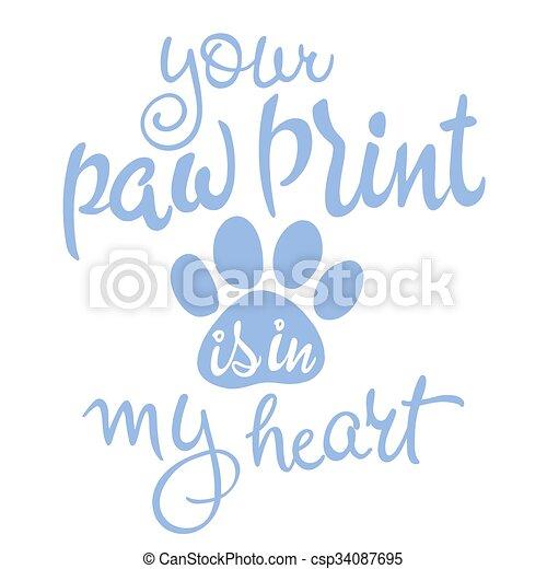 szeret, forgatókönyv, kedvenc, quote., ábra, szín, vektor, higgadtság, lettering., ihlet - csp34087695