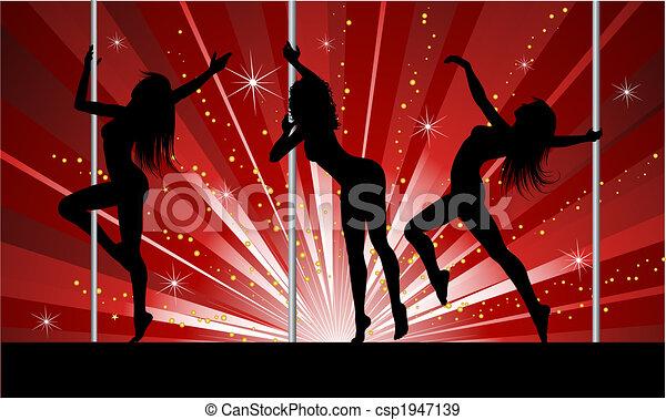 szexi, lengyel, táncosok - csp1947139