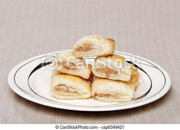 tányér, kolbász, hengermű - csp6349421