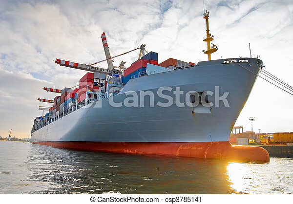tároló hajó, rakomány, rakomány - csp3785141