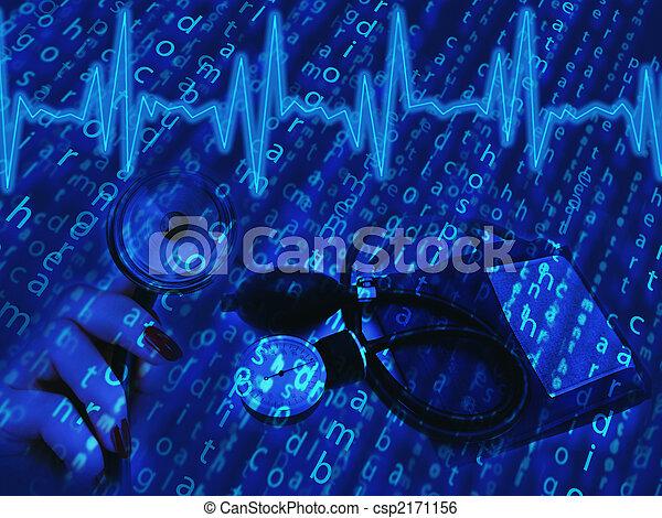 téma, orvosi - csp2171156