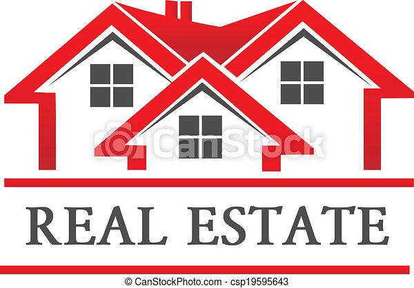 tényleges, épület, társaság, birtok, jel - csp19595643