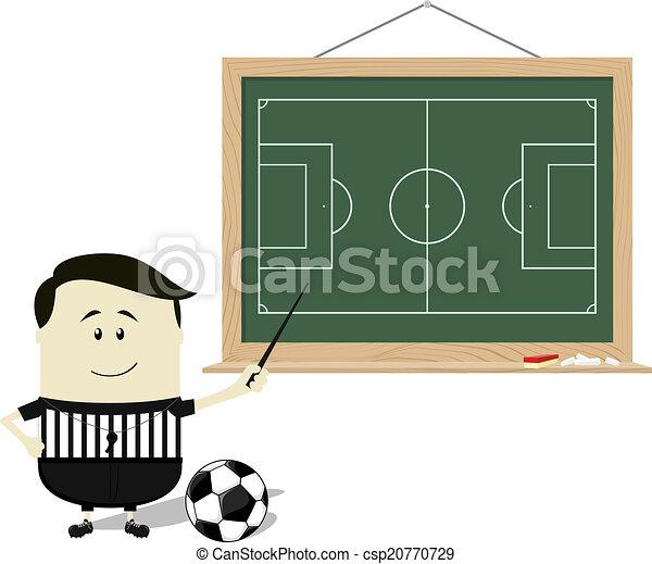 tanítás, izbogis, játékvezető, futball - csp20770729