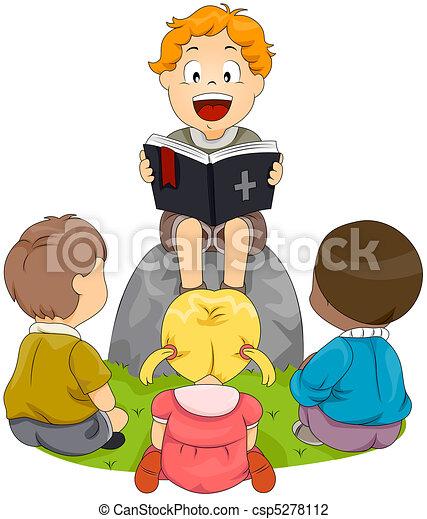 tanul, biblia - csp5278112