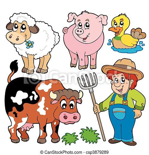 tanya, karikatúrák, gyűjtés - csp3879289