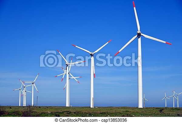 tanya, turbines, energia, -, forrás, választás, felteker - csp13853036