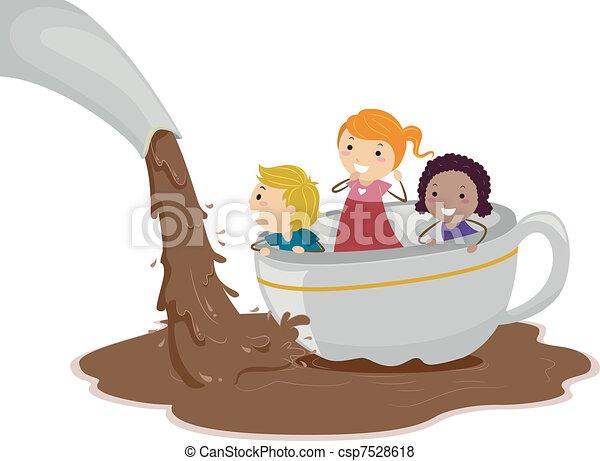 tavacska, csokoládé - csp7528618