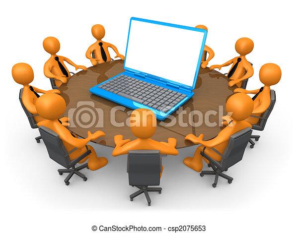 technológia, gyűlés - csp2075653