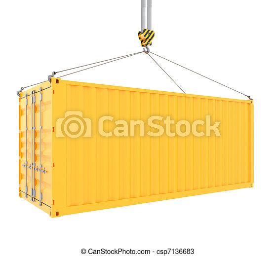 teherárú tároló - csp7136683