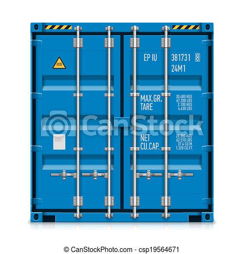 teherárú tároló, rakomány, hajózás - csp19564671