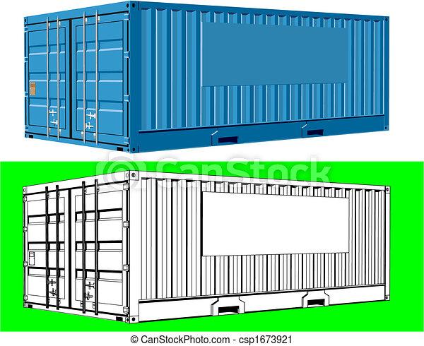 teherárú tároló, rakomány - csp1673921