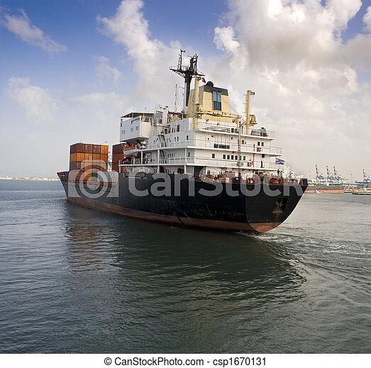 teherhajó - csp1670131