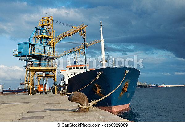 teherhajó - csp0329889