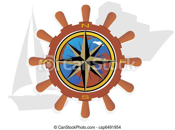 tenger, cirkálás - csp6491954