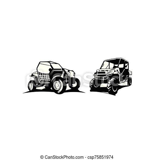 terep-, ihlet, autó, jel - csp75851974