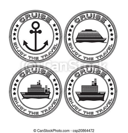 tervezés, csónakázik - csp20864472