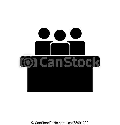 tervezés, egyszerű, jurors, jelkép, ikon - csp78691000
