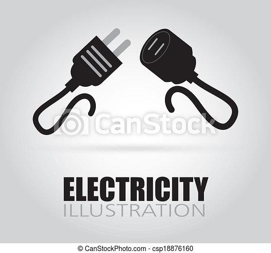 tervezés, elektromos - csp18876160