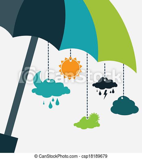 tervezés, időjárás - csp18189679