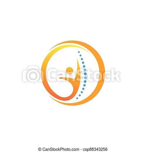 tervezés, jelkép, jel, gerinc kezelése, ikon, sablon - csp88343256