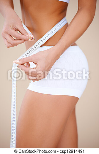test, becsuk, rész, woman's, feláll, rendes - csp12914491