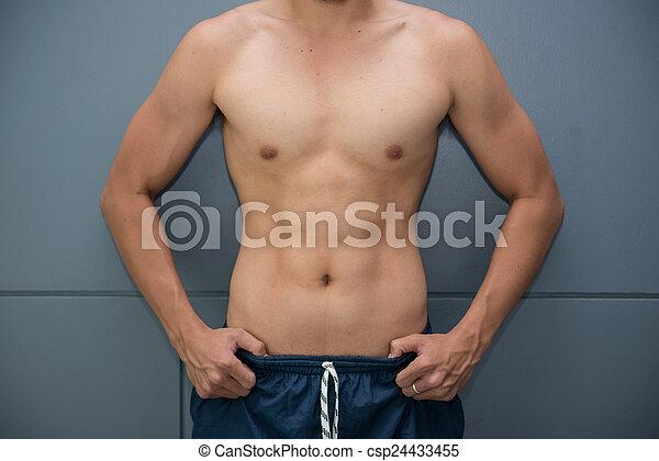 test, jó, férfiak, erős, egészség, bír, kedves - csp24433455