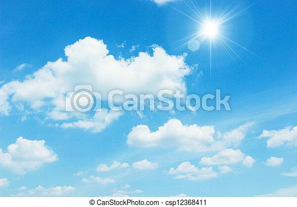 tiszta égbolt - csp12368411