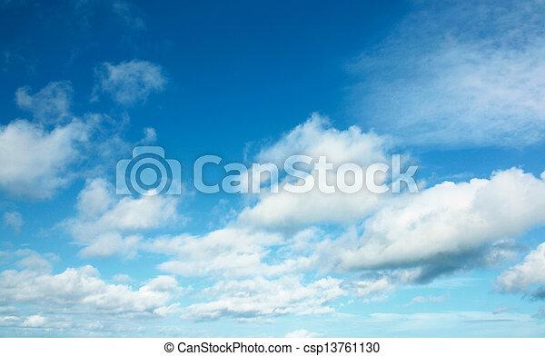 tiszta égbolt - csp13761130