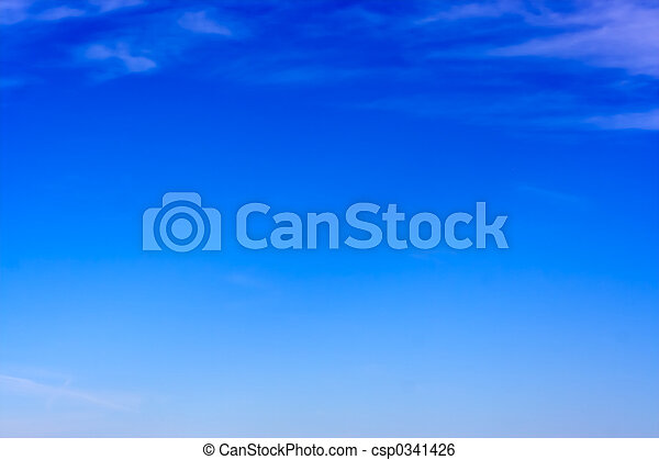 tiszta égbolt - csp0341426