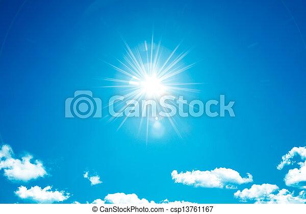 tiszta égbolt - csp13761167