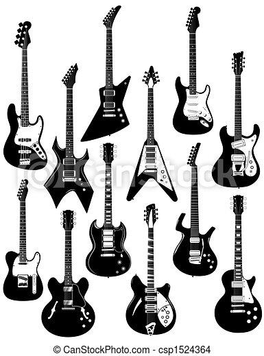 tizenkettő, elektromos gitár - csp1524364