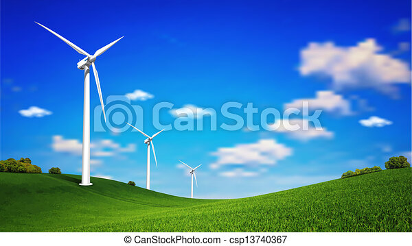 turbina, felteker - csp13740367