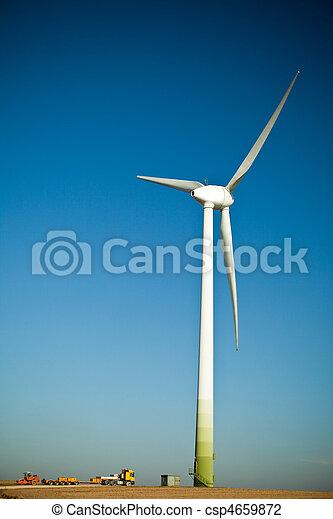 turbina, szerkesztés hely, felteker - csp4659872