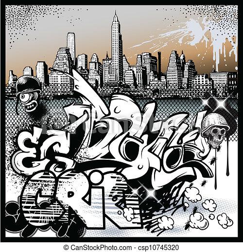 urban graffiti, alapismeretek, művészet - csp10745320