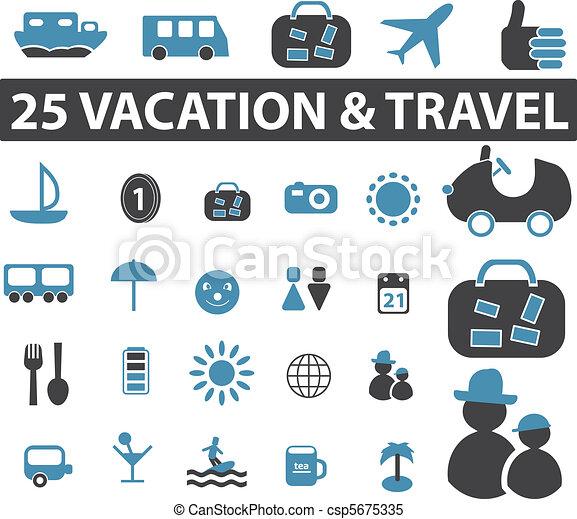 utazás, cégtábla - csp5675335