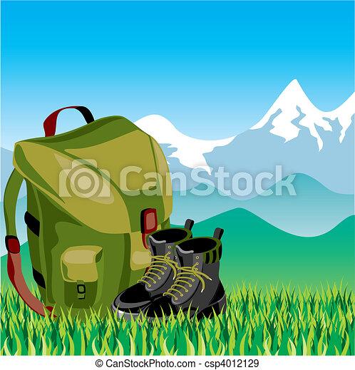 utazás, hátizsák - csp4012129