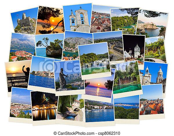 utazás, horvátország, fénykép, kazal - csp8062310