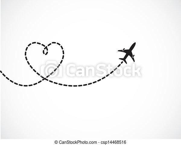 utazás, szeret, fogalom - csp14468516