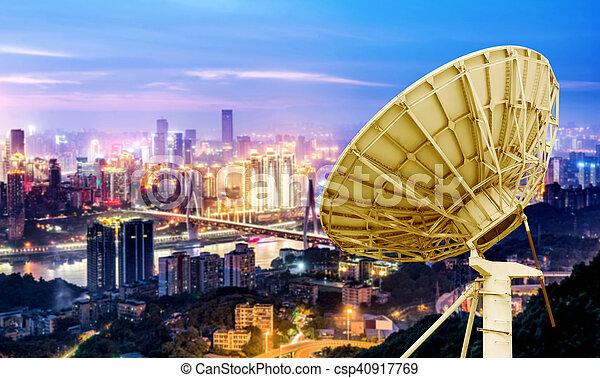 város, chongqing, kína, állati tüdő - csp40917769