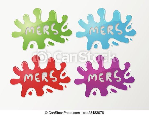 vírus, mers, korona - csp28483076